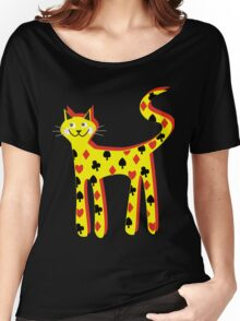 Cat cards Women's Relaxed Fit T-Shirt