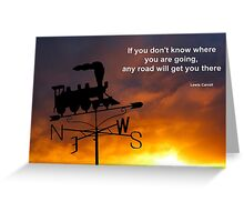Journey Quotation Greeting Card