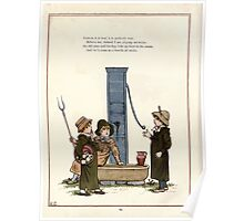 Under the Window Pictures and Rhymes for Children Edmund Evans and Kate Greenaway 1878 0028 Up in the Moon Poster