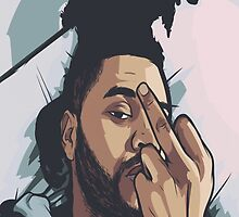 The weeknd by raevannn