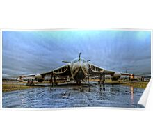 Handley Page Victor - Lusty Lindy Poster