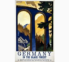 Germany In the Black Forest Vintage Poster Restored Unisex T-Shirt