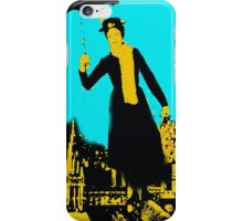 Mary in the city iPhone Case/Skin