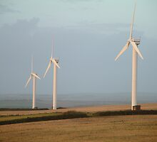 Wind Turbines 3 by TREVOR34