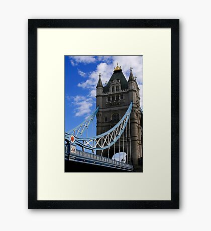 Historic Tower Bridge Framed Print