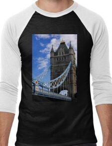 Historic Tower Bridge Men's Baseball ¾ T-Shirt