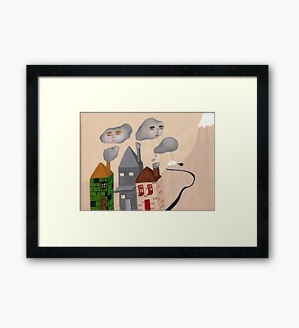 Are you a stormcloud? the real one. Framed Print