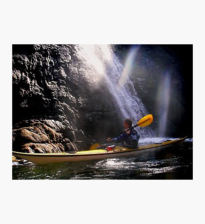 A memorable paddle Photographic Print