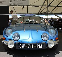 Renault Alpine A110 by Tom Gregory