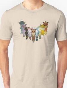 Pokemon: Eeveelution V.2 T-Shirt
