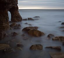 Marsden Rock. by Carl Mickleburgh