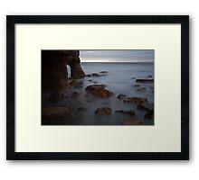 Marsden Rock. Framed Print