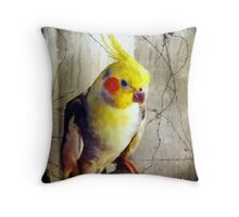 I am Cheeky Throw Pillow