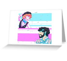 Spring - Bilbo and Thorin Greeting Card
