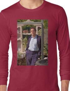 Monty Don At RHS Hampton Court Palace Flower Show 2015 Long Sleeve T-Shirt