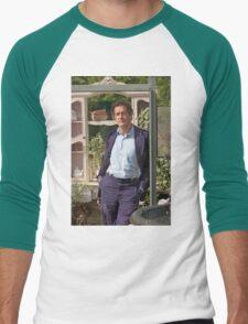 Monty Don At RHS Hampton Court Palace Flower Show 2015 Men's Baseball ¾ T-Shirt