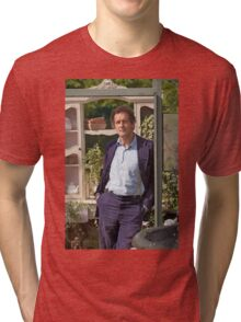 Monty Don At RHS Hampton Court Palace Flower Show 2015 Tri-blend T-Shirt