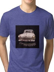 Retro car Volga  Tri-blend T-Shirt
