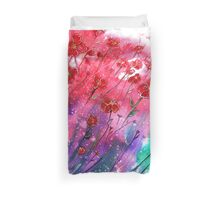 Dancing Poppies  Duvet Cover