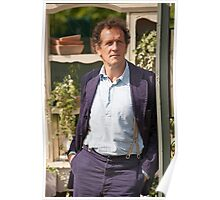 Monty Don At RHS Hampton Court Palace Flower Show 2015 Poster