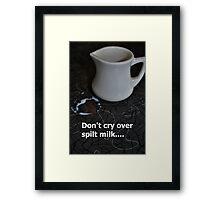 No Use  Framed Print
