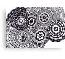 Black and White #1 Canvas Print