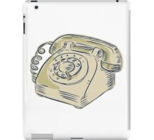 Telephone Vintage Etching iPad Case/Skin