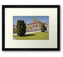 Goblet Ewe Trees: Cliveden House, Buckinghamshire, UK Framed Print