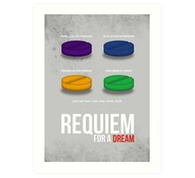 REQUIEM FOR A DREAM - MINIMAL  Art Print