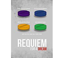 REQUIEM FOR A DREAM - MINIMAL  Photographic Print
