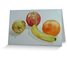 """""""The Fruit Bowl"""" Greeting Card"""
