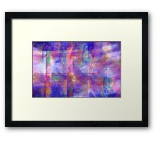 Abstract Composition  – April 19, 2010  Framed Print