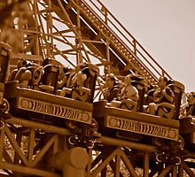 Kingda Ka - Lift Off  1.67G's by Paul Gitto