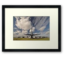"""The Last Laugh"" B52,Avalon Airshow,Australia 2015 Framed Print"