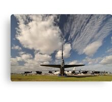 """The Last Laugh"" B52,Avalon Airshow,Australia 2015 Canvas Print"