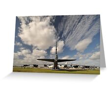 """The Last Laugh"" B52,Avalon Airshow,Australia 2015 Greeting Card"