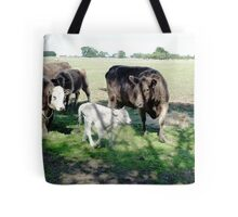 Friends come to say Moo to Casper Tote Bag