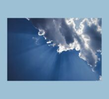 Blue Sky and Sun Rays Kids Clothes