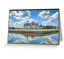 Chateau Chambord Greeting Card