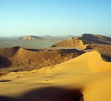 Empty desert.... by Peter Doré