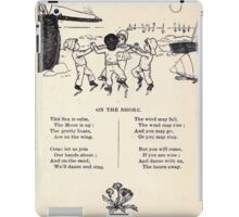 Miniature Under the Window Pictures & Rhymes for Children Kate Greenaway 1880 0049 On the Shore iPad Case/Skin