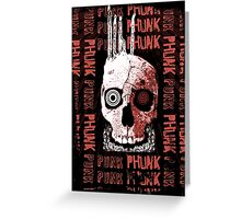 Punk Phunk Greeting Card