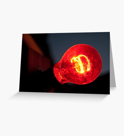 Molten Core Greeting Card