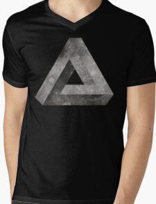 Penrose Moon Mens V-Neck T-Shirt