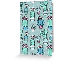 Pretty Cacti Greeting Card