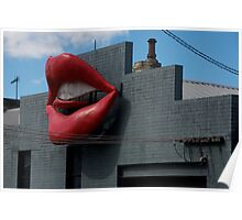 The Lips of Newtown Sydney Poster