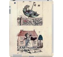 The Little Folks Painting book by George Weatherly and Kate Greenaway 0085 iPad Case/Skin