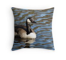 Water World - Lady of the Lake Throw Pillow