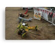 Spare Parts Aircraft Sculptures, Cunderdin Airshow, Australia 2005 Canvas Print