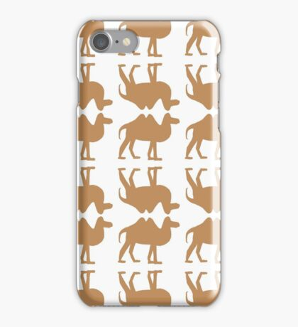 Reflection of a camel iPhone Case/Skin